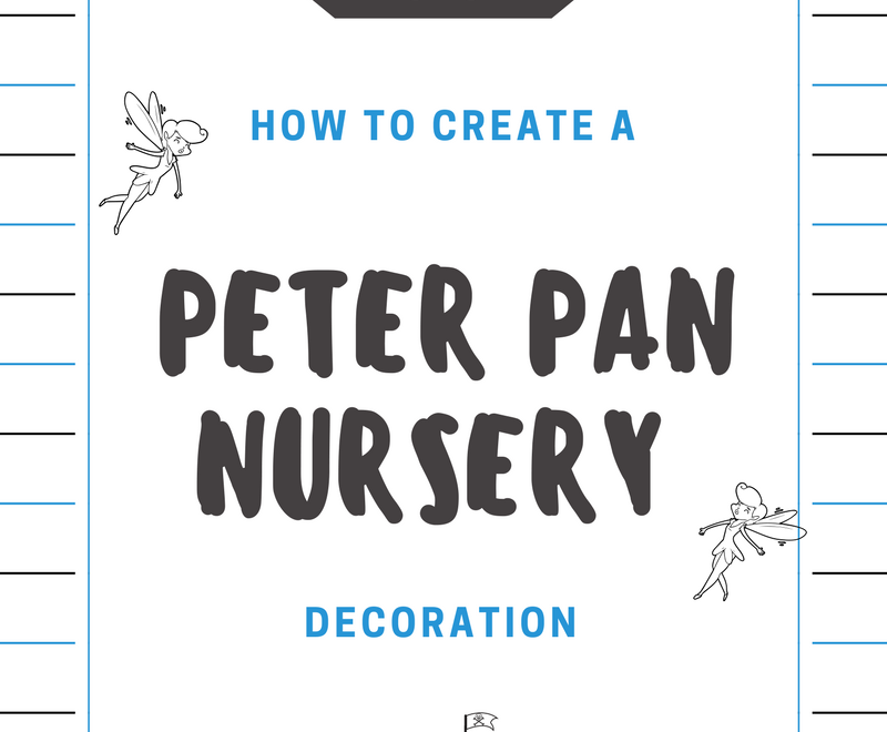 Peter Pan Nursery Decoration