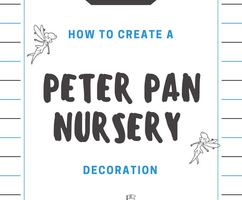 Peter Pan Nursery Decoration