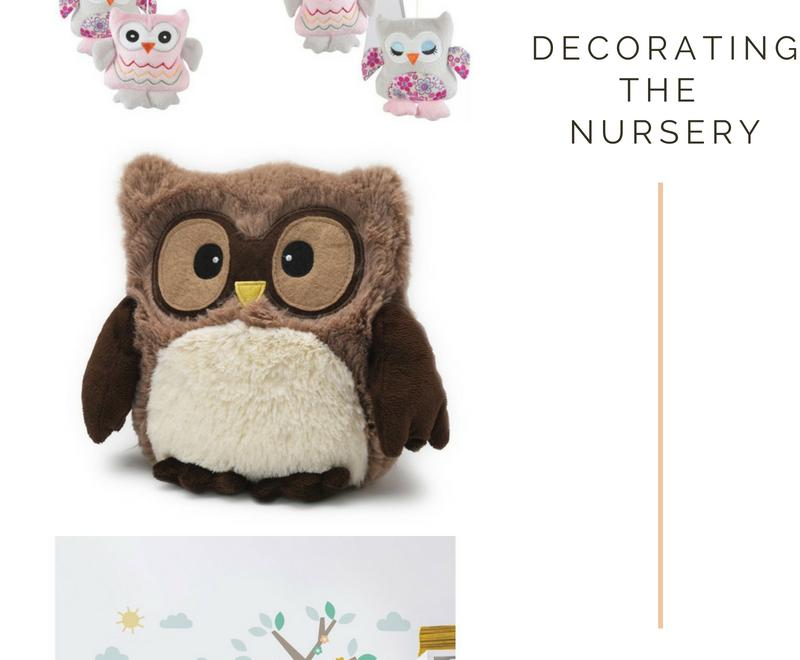 Nursery Decoration   The Owl Theme